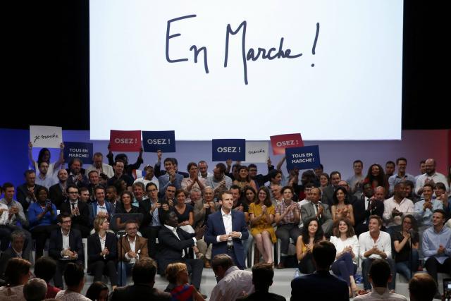 Site en Marche de Macron : ciblé par les hackers après les e-mails de Clinton