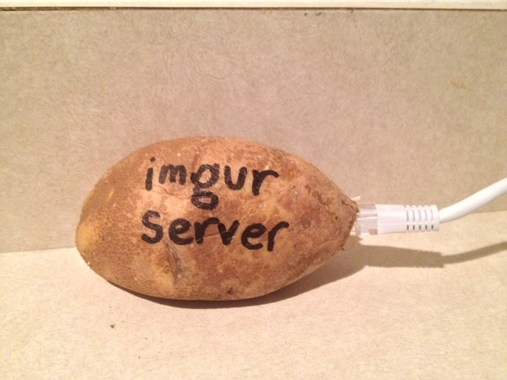 « Imgur, the magic of internet » pris au piège