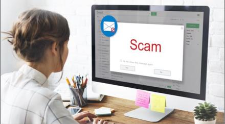 Comment reconnaître un mail d'hameçonnage ?