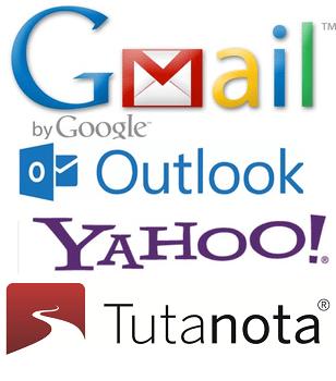 4 services de messagerie gratuits et sécurisés