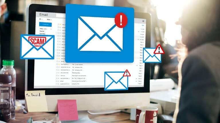 Comment reconnaître un e-mail frauduleux