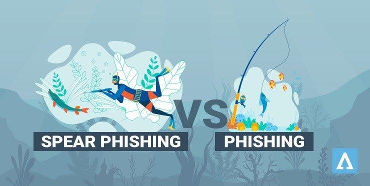 Les différences entre le phishing et le spear phishing
